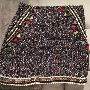Zara mini with embellishments .. one of a kind